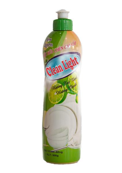 Nước Rửa Chén Clean Light hương chanh